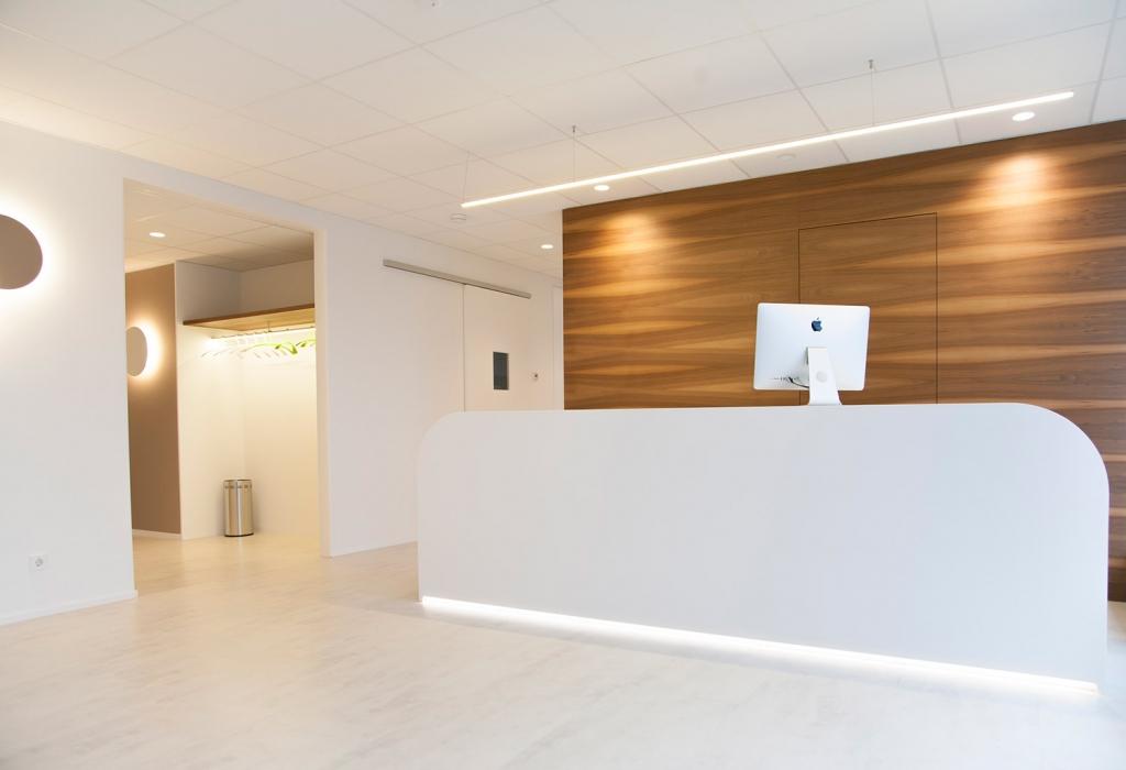 OUTIN | Guelie & Riehl | Innenarchitekt, Referenz Bilder: Dr. Sven & Petra Quester, Fachzahnärzte, Tübingen